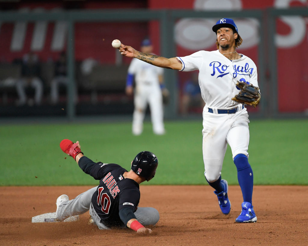 Adalberto Mondesi is one of the sons of former MLB players who's ready to make good on the name.