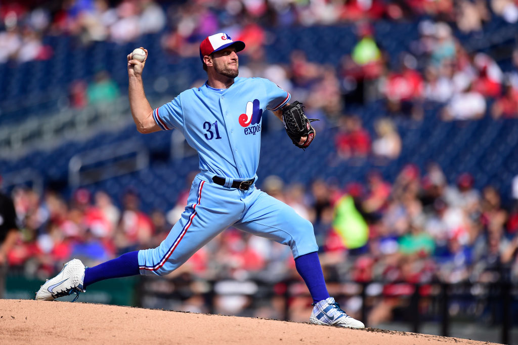 The Washington Nationals sometimes wear Montreal Expos unis, which are among the best MLB throwback uniforms.