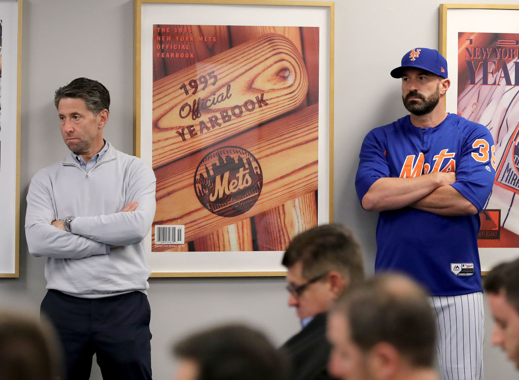 Mickey Callaway might not be around much longer for the Mets, and it's up to team COO Jeff Wilpon to make that call.