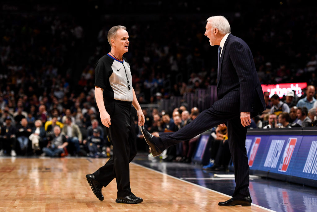 Gregg Popovich figures to use plenty of coach's challenges with the NBA instant replay system.