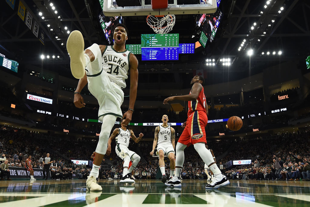 Giannis Antetokounmpo isn't close to performing his best, which is why the rest of the NBA should be afraid.