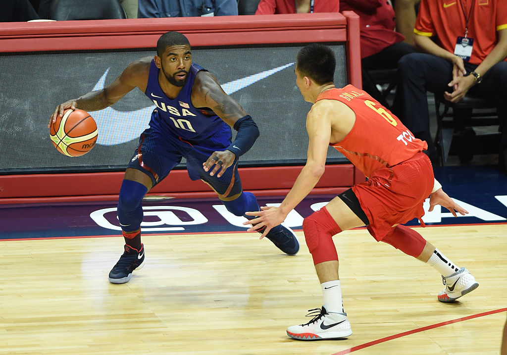 Kyrie Irving is one of several NBA stars declining to play for Team USA in the 2019 FIBA World Cup.