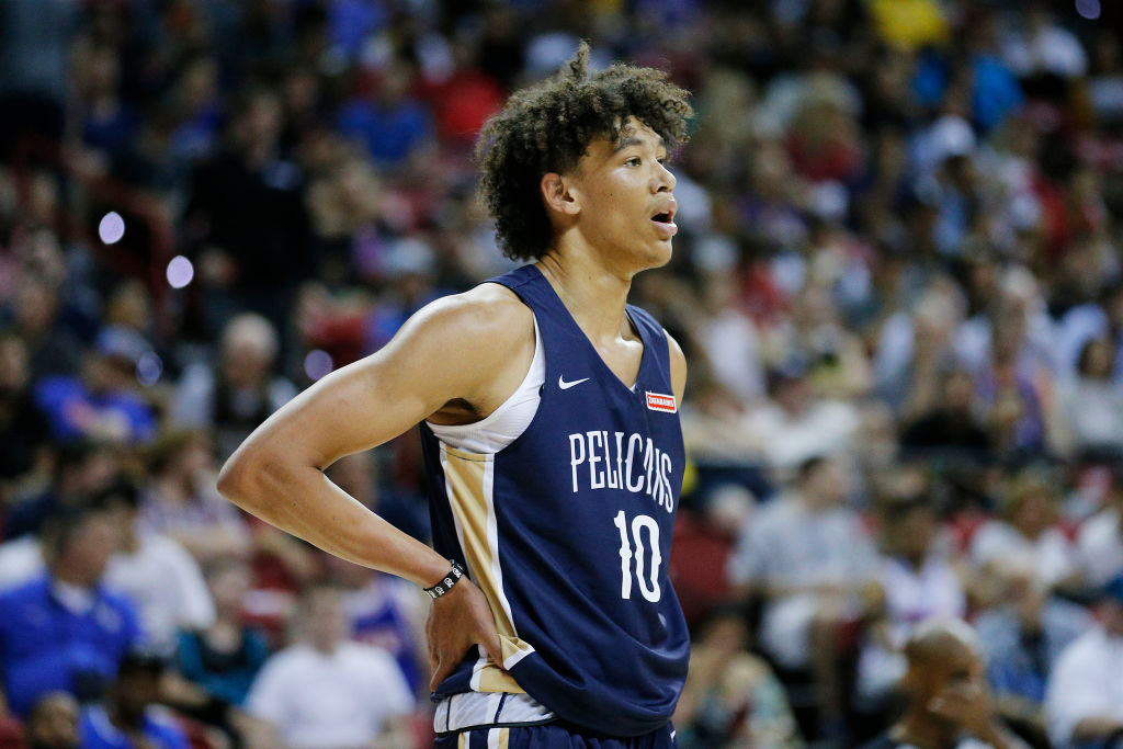 The Pelicans' Jaxson Hayes made several highlight plays during the 2019 NBA summer league.