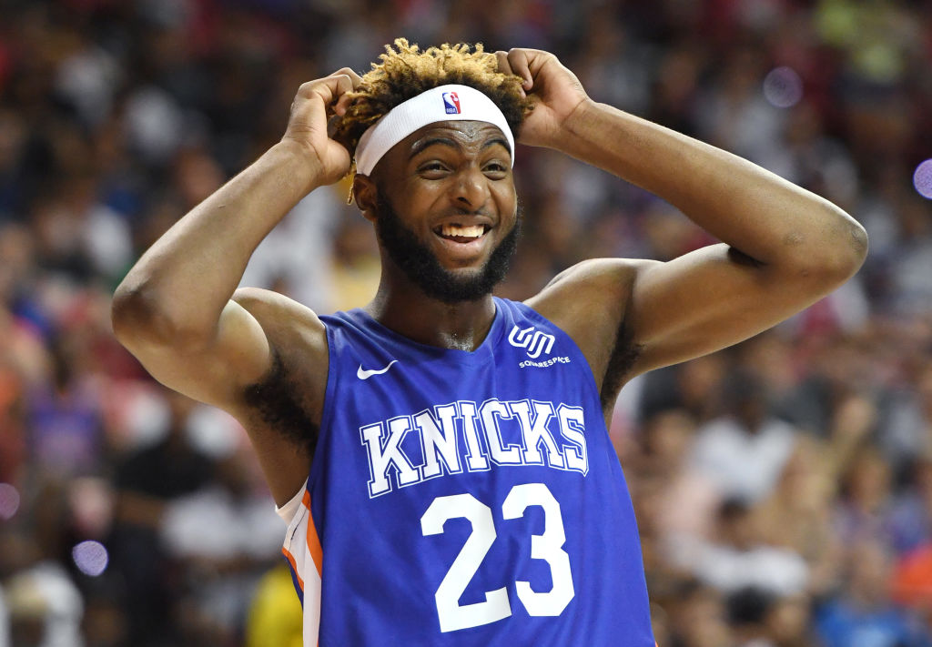 Mitchell Robinson led the way for the Knicks during the 2019 NBA summer league.