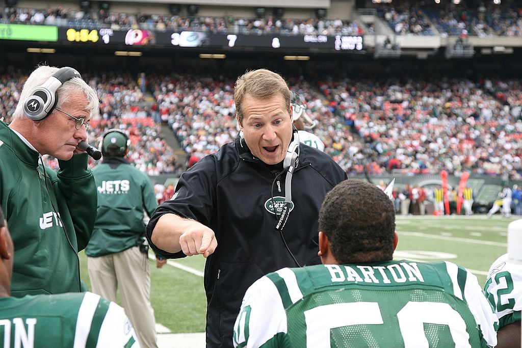 Former Jets coach Eric Mangini is one of a handful of NFL personalities who appeared on The Sopranos.