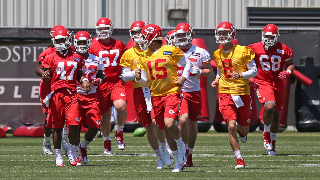 The Kansas City Chiefs and the other 31 NFL teams start prepping for the 2019 in late July.
