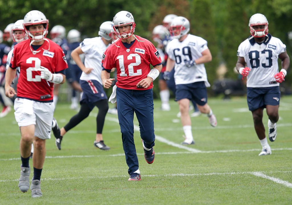 Tom Brady and the New England Patriots, and the other 31 NFL teams, start prepping for the 2019 in late July.