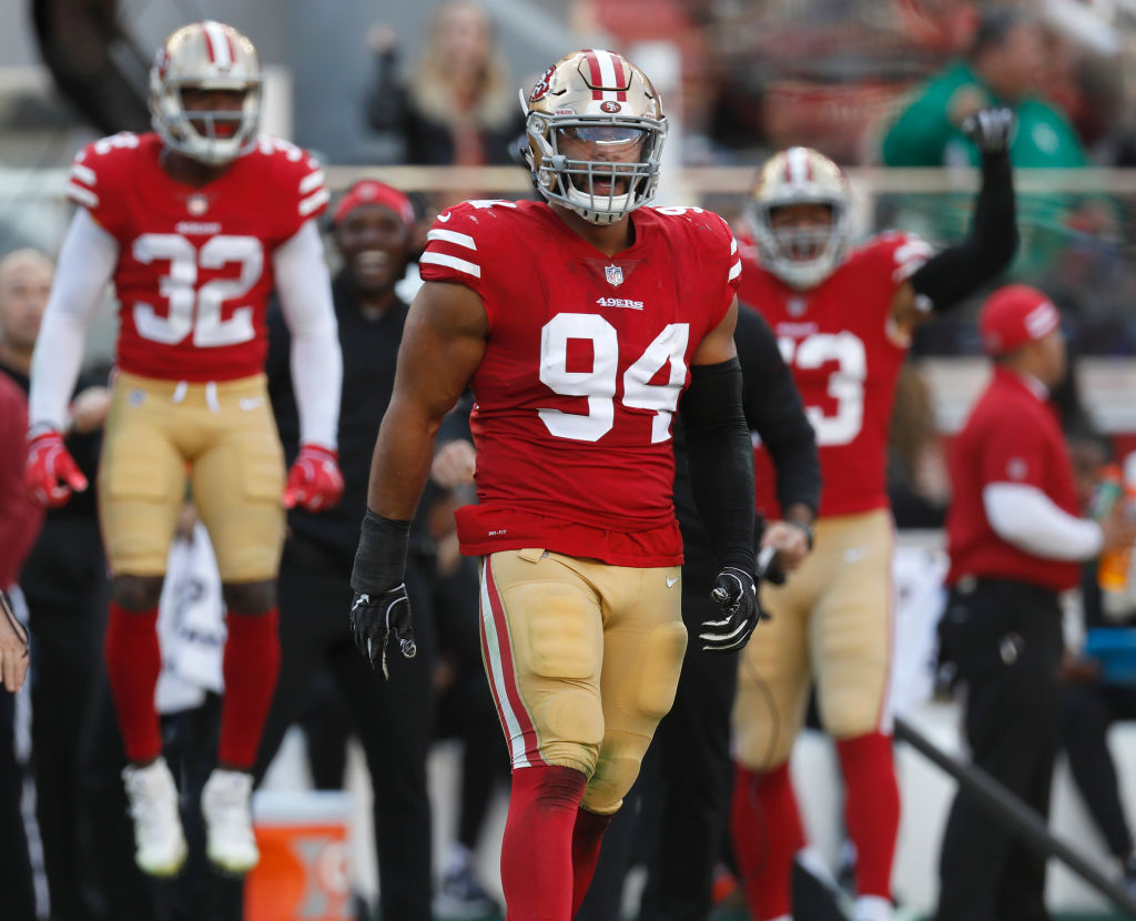 The 49ers Solomon Thomas is one of the NFL players facing a make or break season.