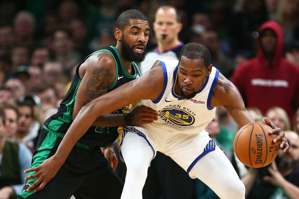 Time will tell if the Brooklyn Nets will be any good with Kyrie Irving (left) and Kevin Durant leading the way.