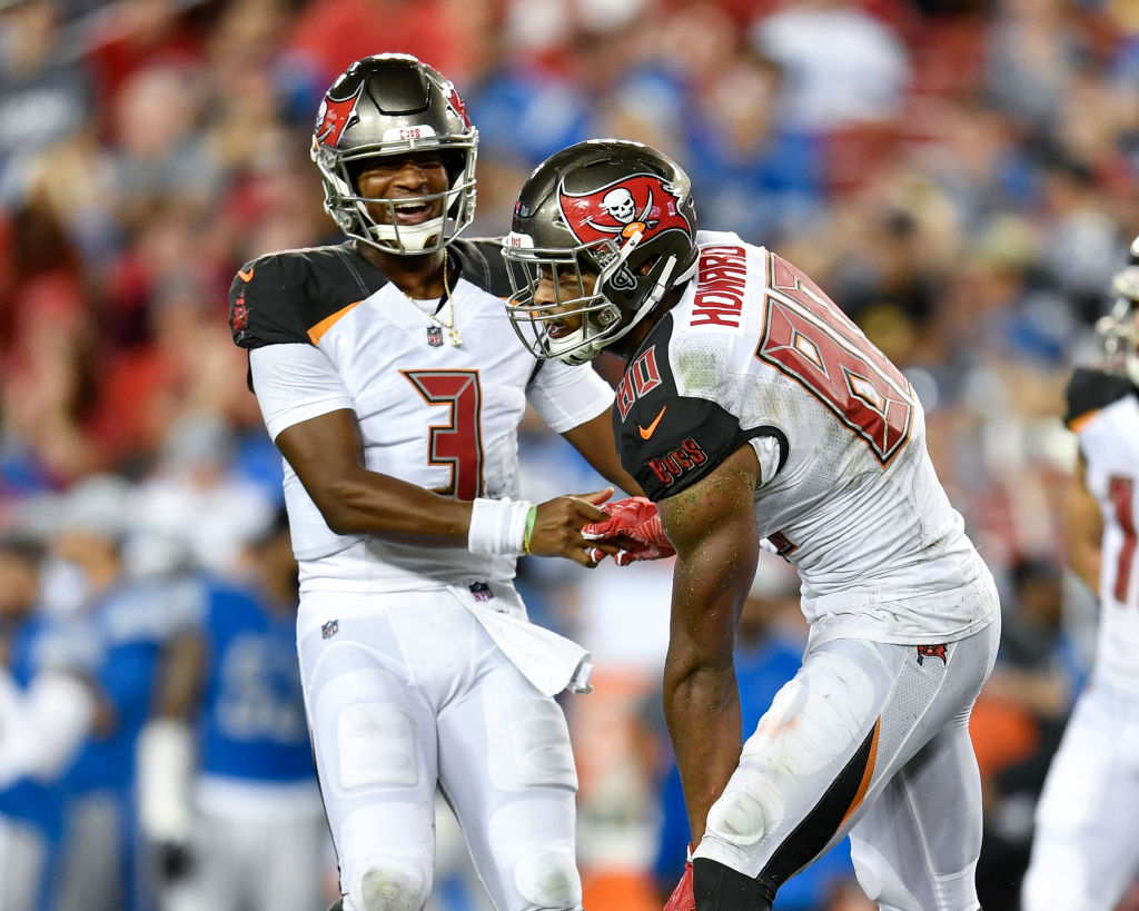 O.J. Howard is the best tight end in the NFL, according to teammate Jameis Winston.