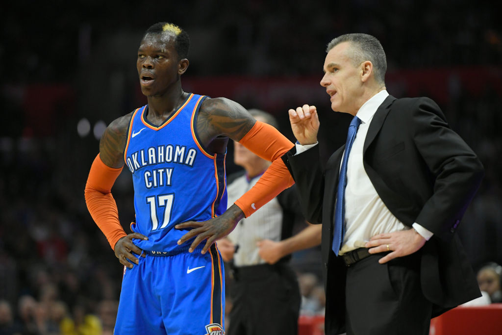Dennis Schroder figures to be part of any Oklahoma City Thunder rebuilding plan.