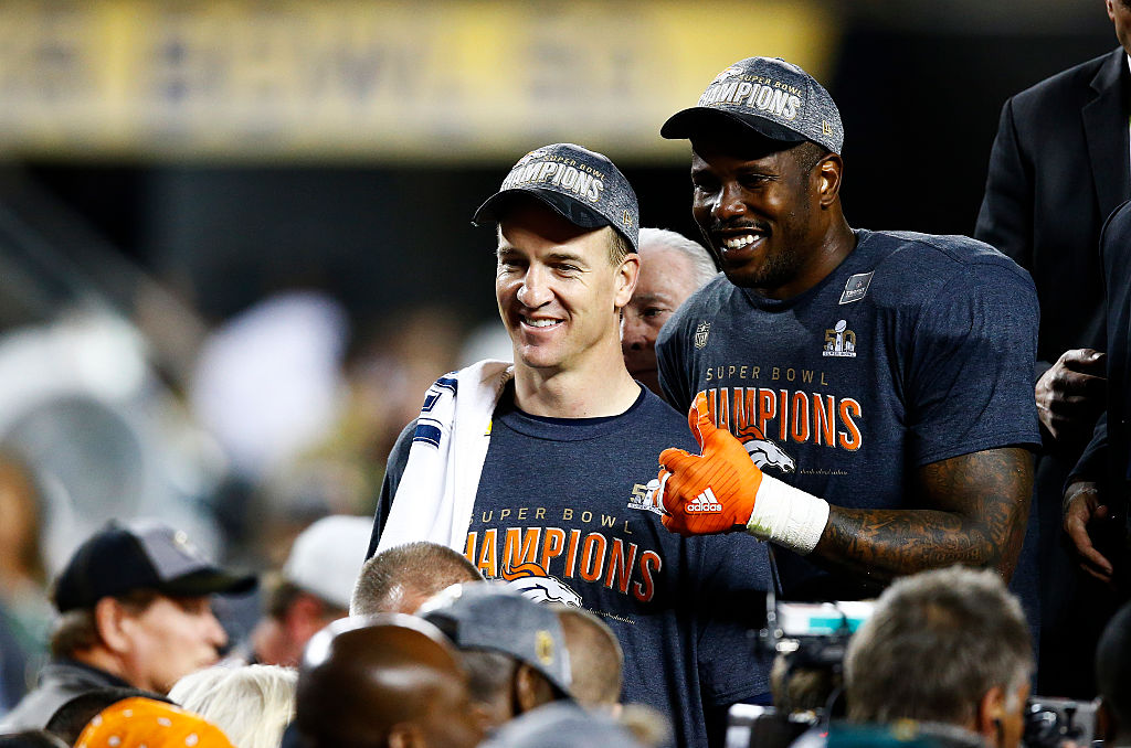 Peyton Manning calls Denver teammate Von Miller the most athletic player he ever played with.