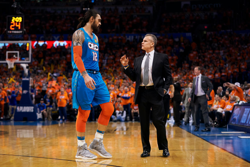 Oklahoma City moving Steven Adams is one of the NBA trades that could spice up the 2019 offseason.
