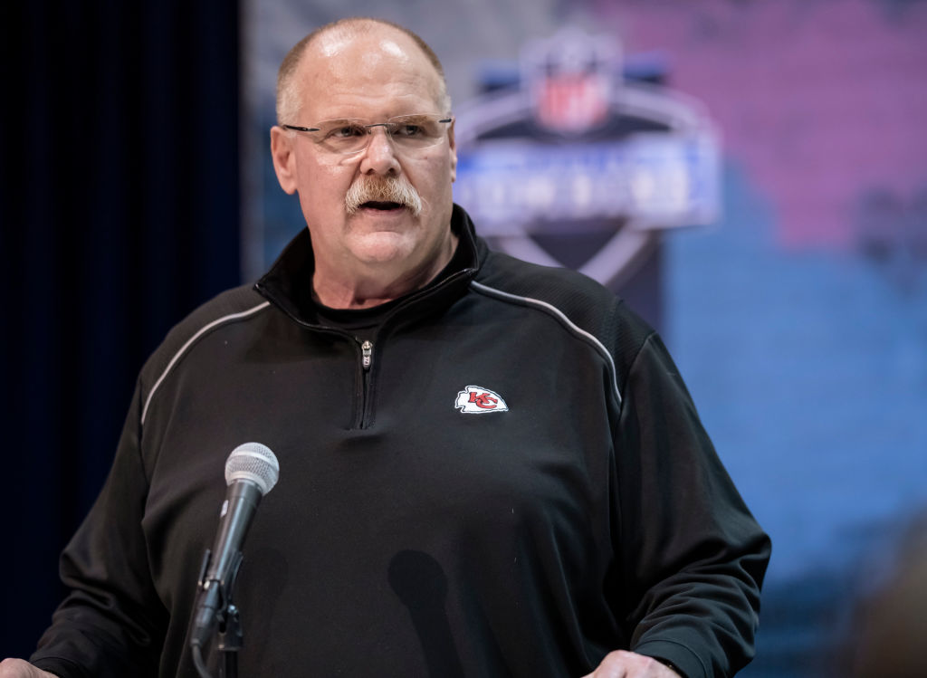 Comments about Chiefs coach Andy Reid and his son landed a radio host in hot water.