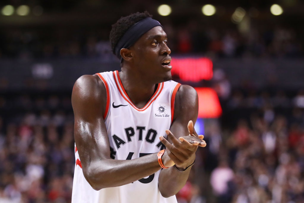 Pascal Siakam figures to be at the center of a Raptors rebuild.