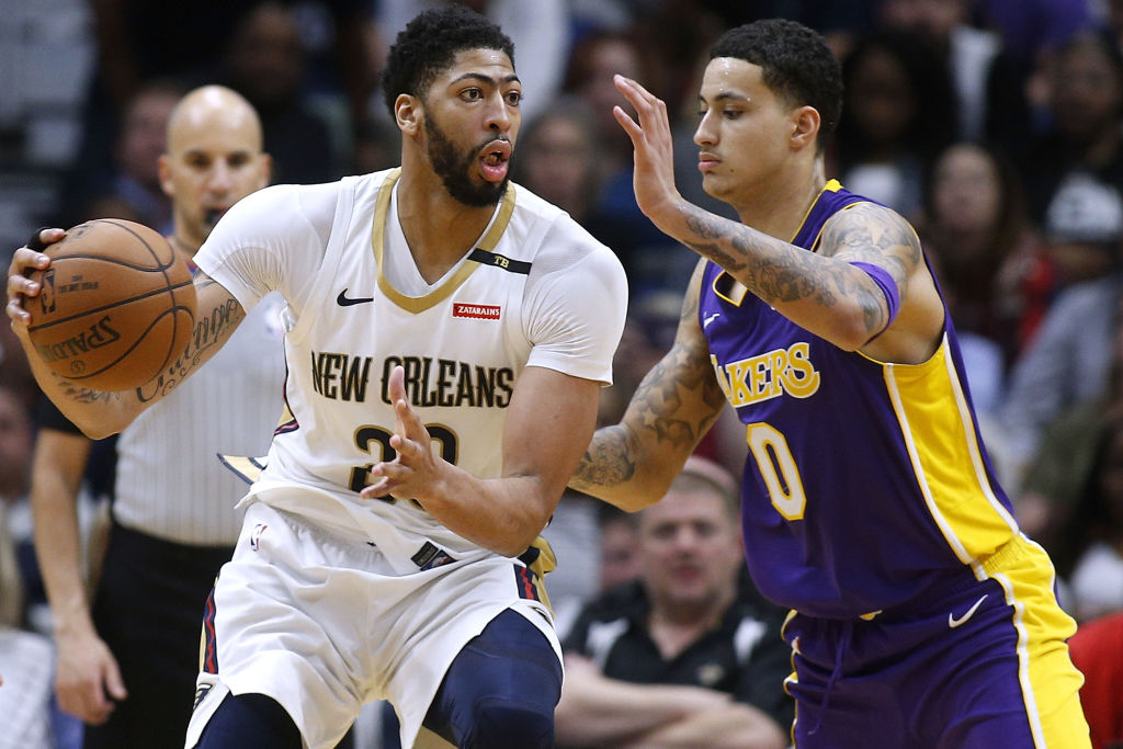 Kyle Kuzma is the perfect complement to Anthony Davis and LeBron James, which is why the Lakers didn't trade him in the Davis deal.