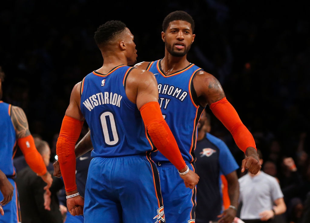 After an embarrassing exit in 2019, Russell Westbrook, Paul George, and the Thunder look to do a lot better in the 2020 NBA playoffs.