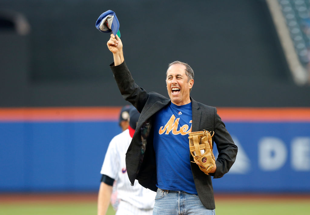 Jerry Seinfeld is a lifelong Mets fan, and he won't waver.