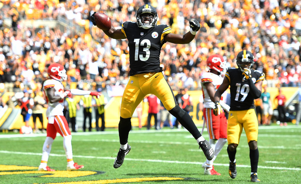 James Washington is poised to make Steelers fans forget about Antonio Brown.