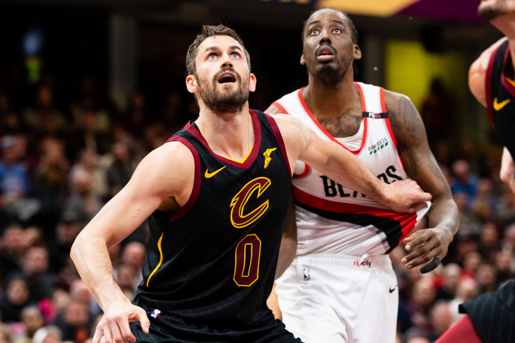 Trading for the Cavaliers Kevin Love could be a smart move for the Portland Trail Blazers in the NBA's stacked Western Conference.
