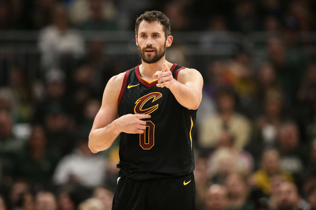 Trading for the Cavaliers Kevin Love could be a smart move for several teams hoping to contend for an NBA title.