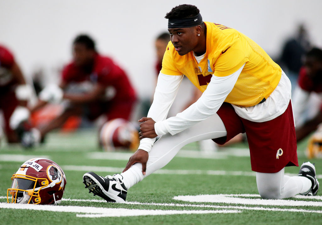 Redskins Rookie Mini-Camp - Dwayne Haskins