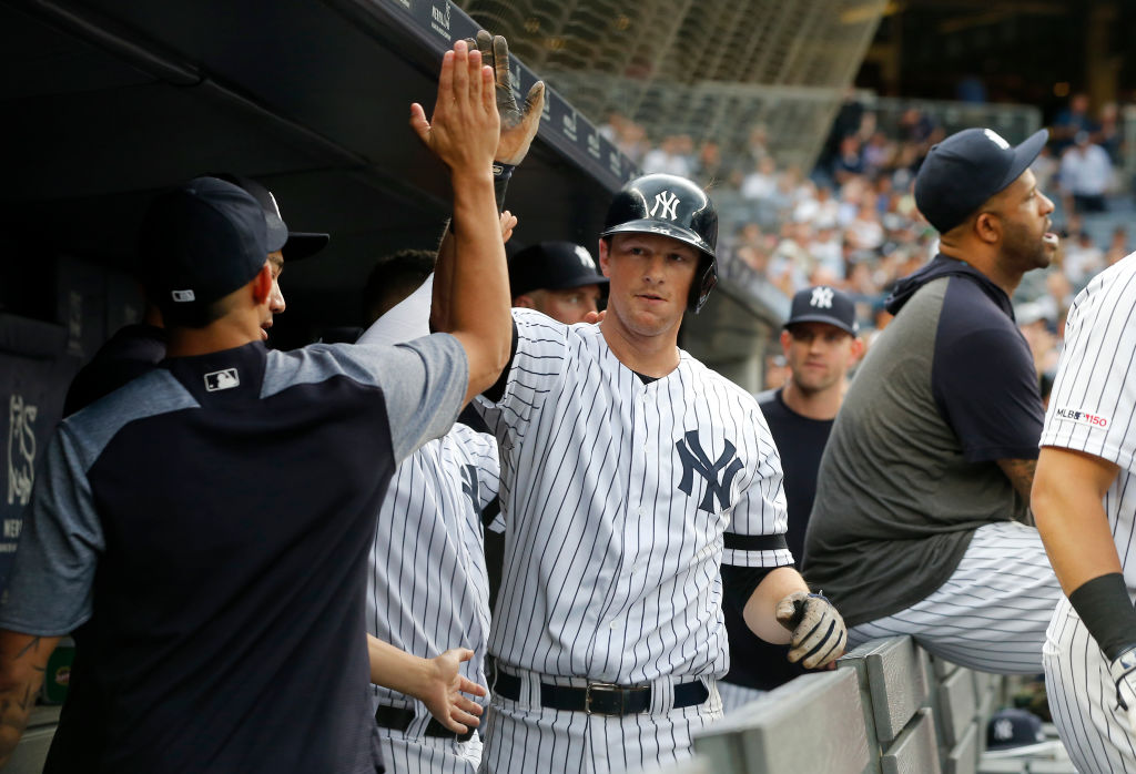 D.J. Le Mahieu can make a case to be the New York Yankees team MVP in 2019.