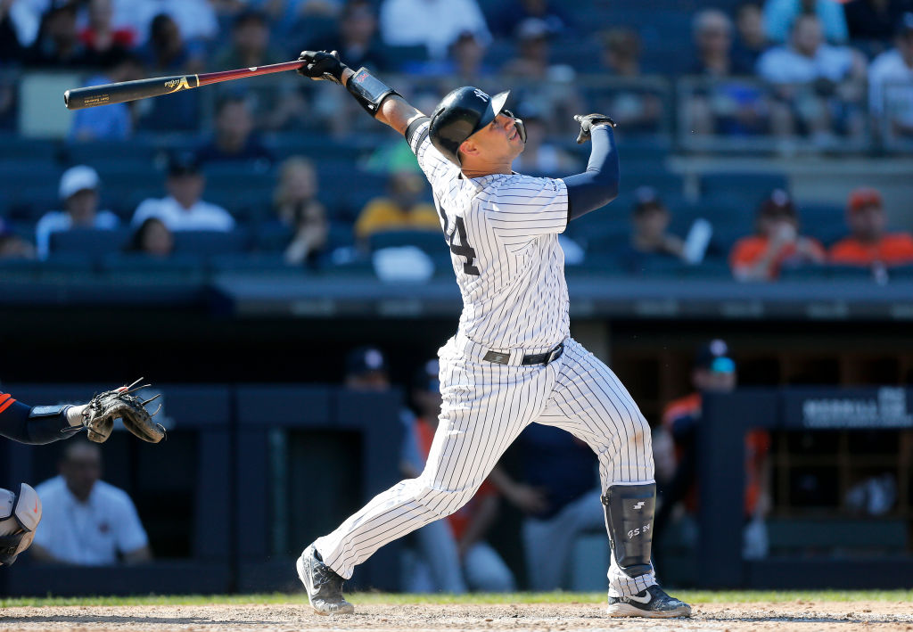 Gary Sanchez can make a case to be the New York Yankees team MVP in 2019.