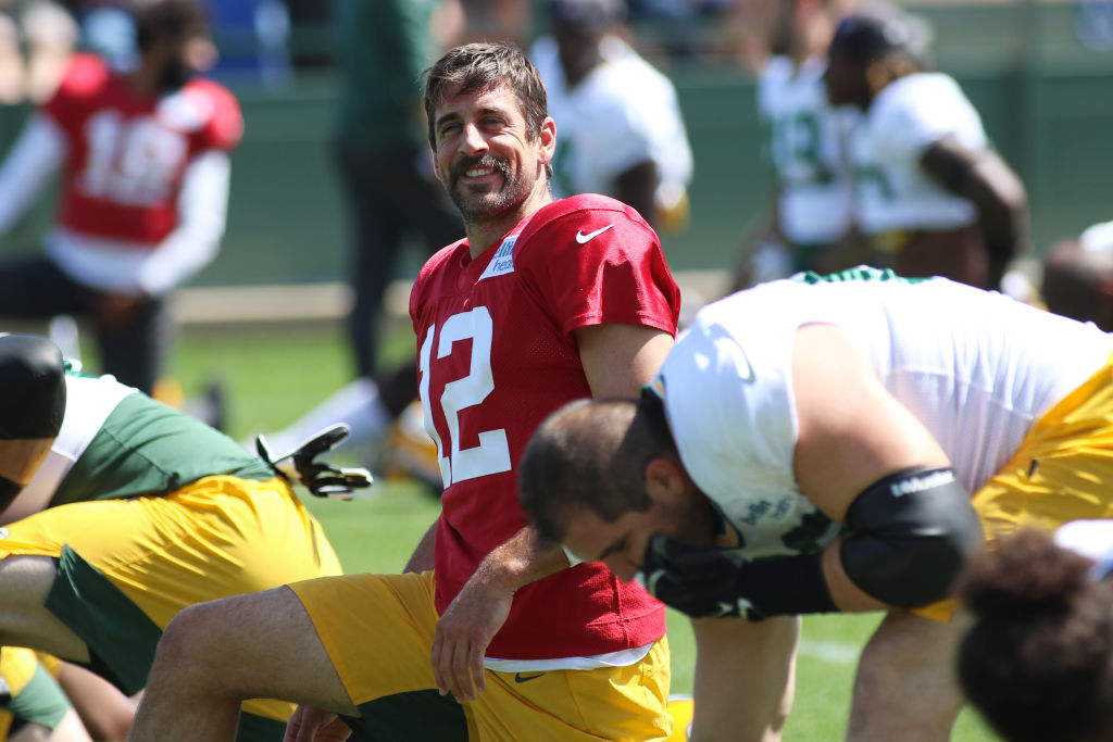 Packers quarterback Aaron Rodger is better than most NFL quarterbacks, but he might not be elite anymore.
