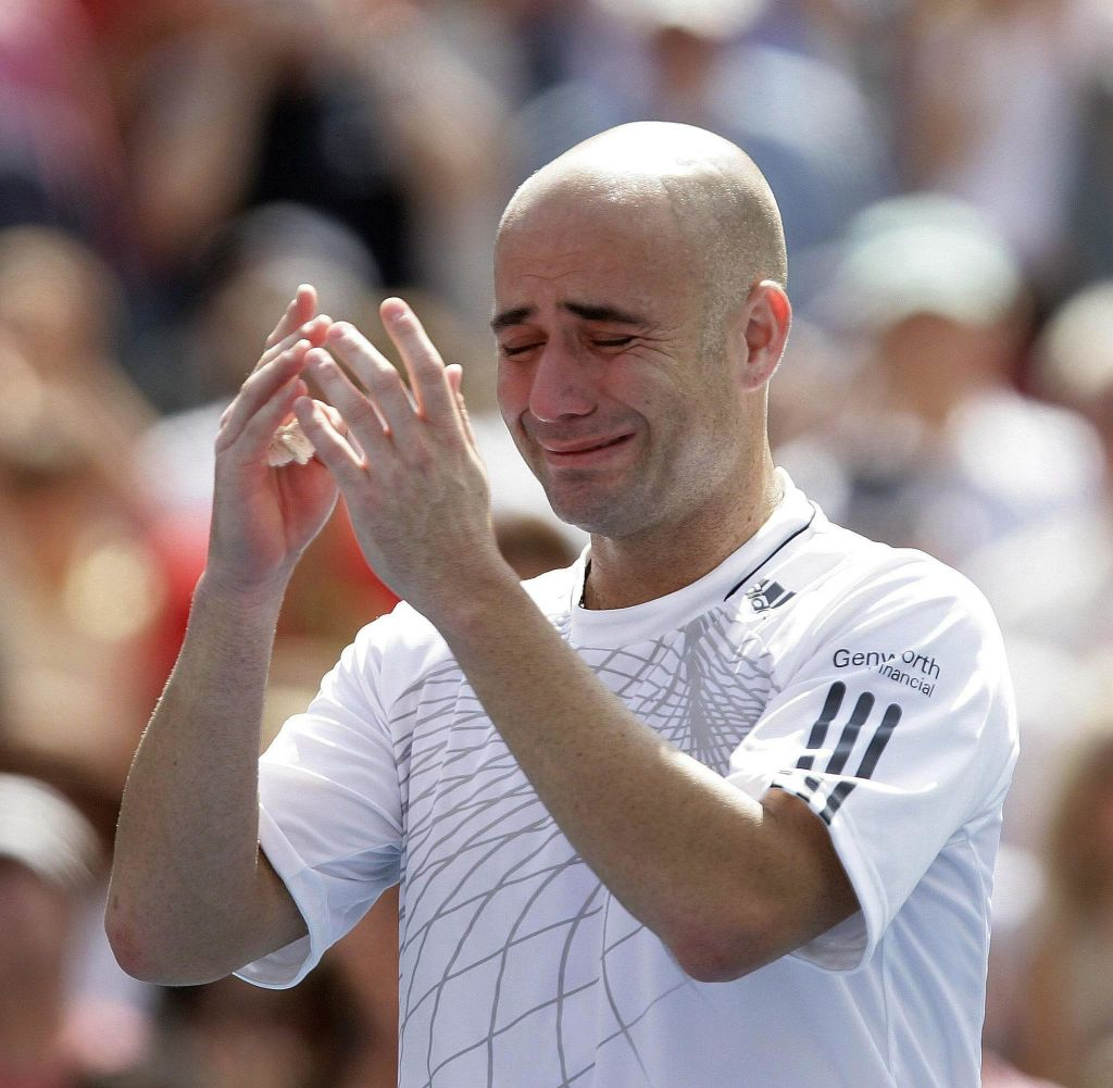 Craziest moments in US Open history - Andre Agassi retires