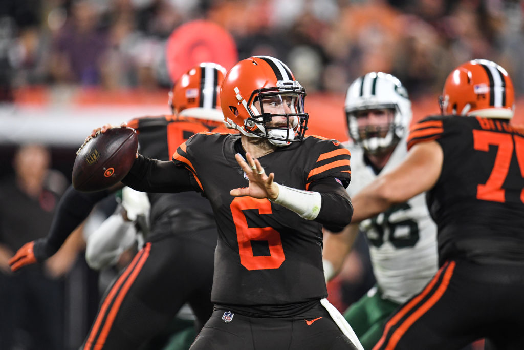 Baker Mayfield's trash talk immediately won over his Cleveland Browns teammates.