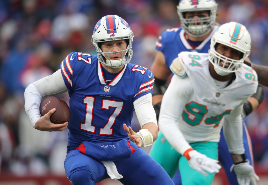Bills quarterback Josh Allen went out of his way to convert a Miami Dolphins fan during 2019 training camp.