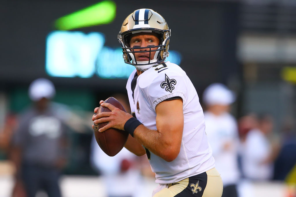 Saints quarterback Drew Brees may already have started his decline.
