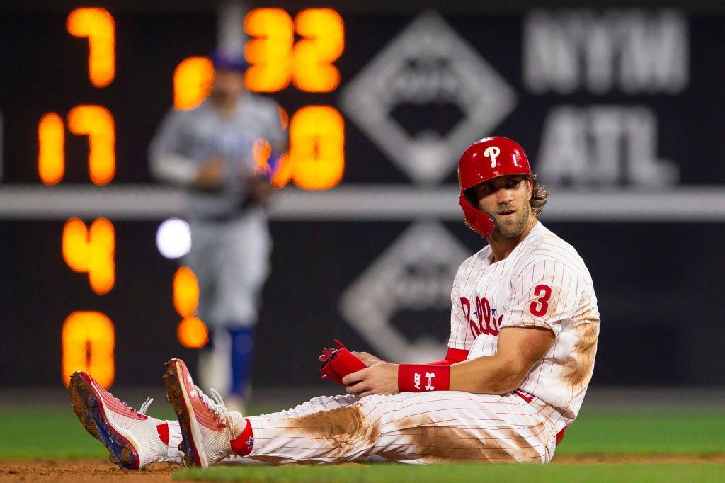 Despite some highlights, Bryce Harper has struggled in his first season with the Phillies in 2019.