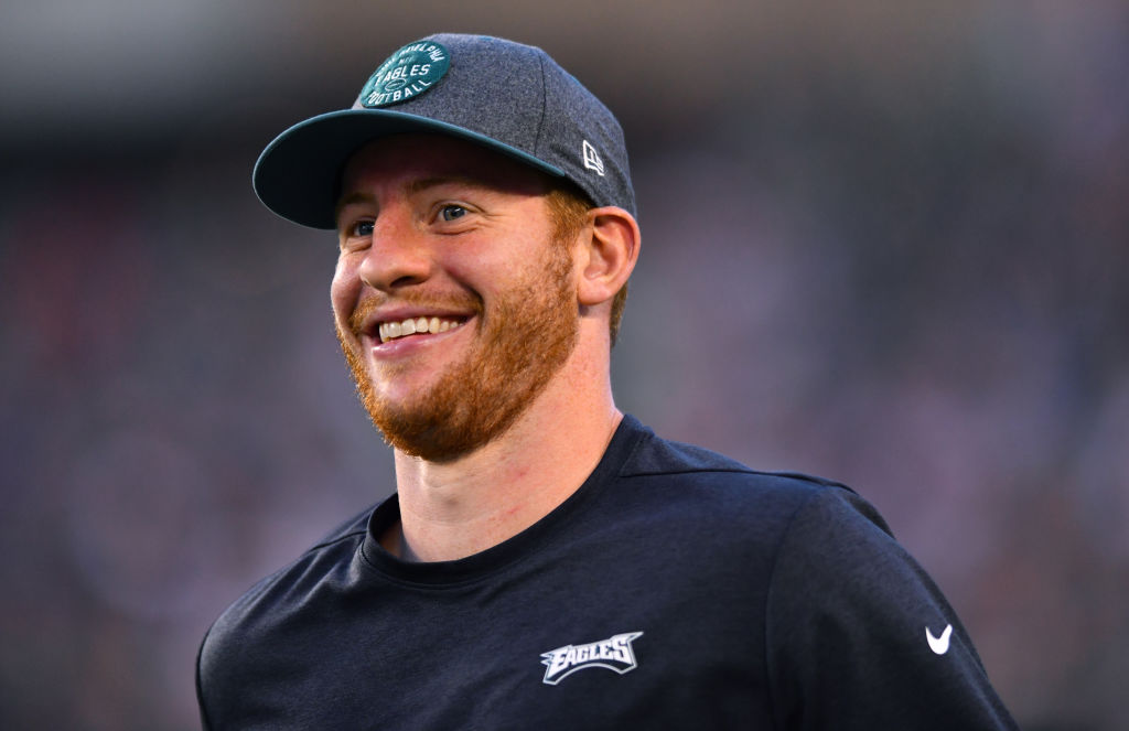 Eagles quarterback Carson Wentz could have his best season as a pro in 2019.