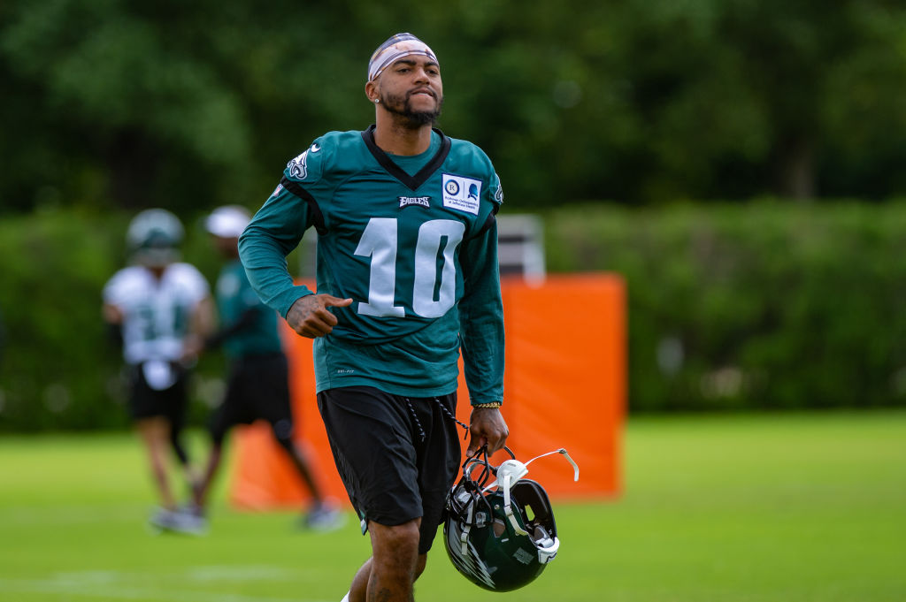 The addition of DeSean Jackson could help Eagles quarterback Carson Wentz have his best season as a pro in 2019.