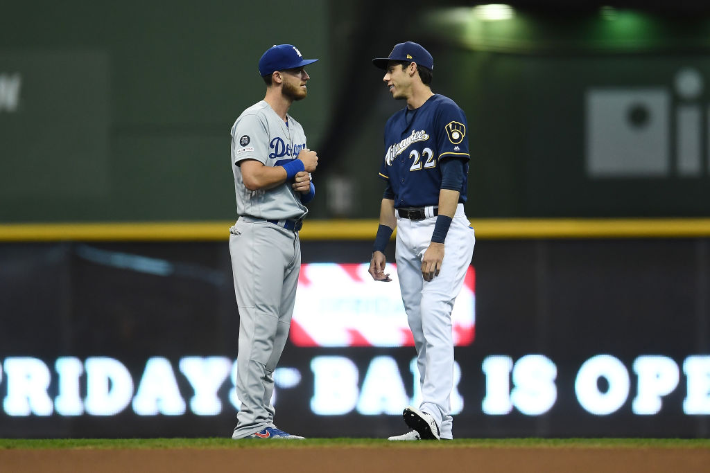 Christian Yelich and Cody Bellinger
