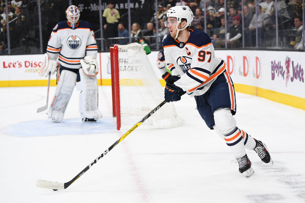 Connor McDavid could join some of the NHL's all-time greats if he notches another 100-point season.