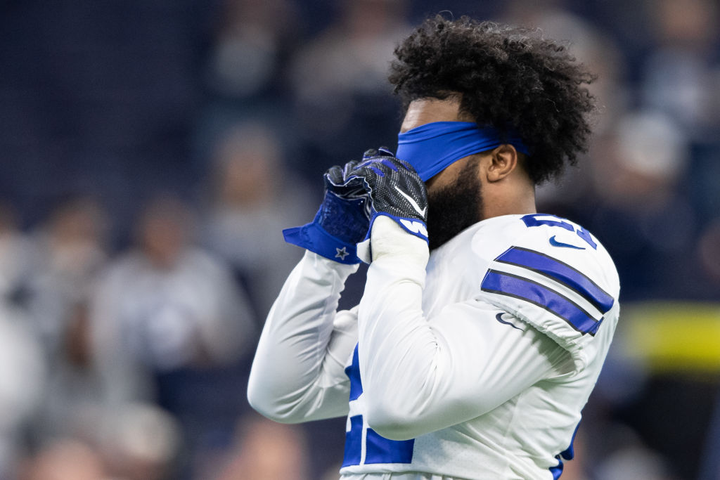 What will the backfield look like if Ezekiel Elliott doesn't play for the Cowboys in 2019?