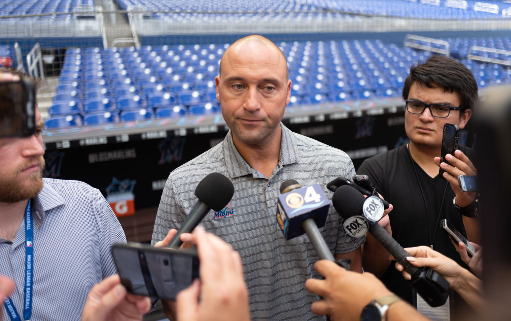 Derek Jeter dismissed Hall of Fame players Tony Perez and Andre Dawson when he took over the Marlins.
