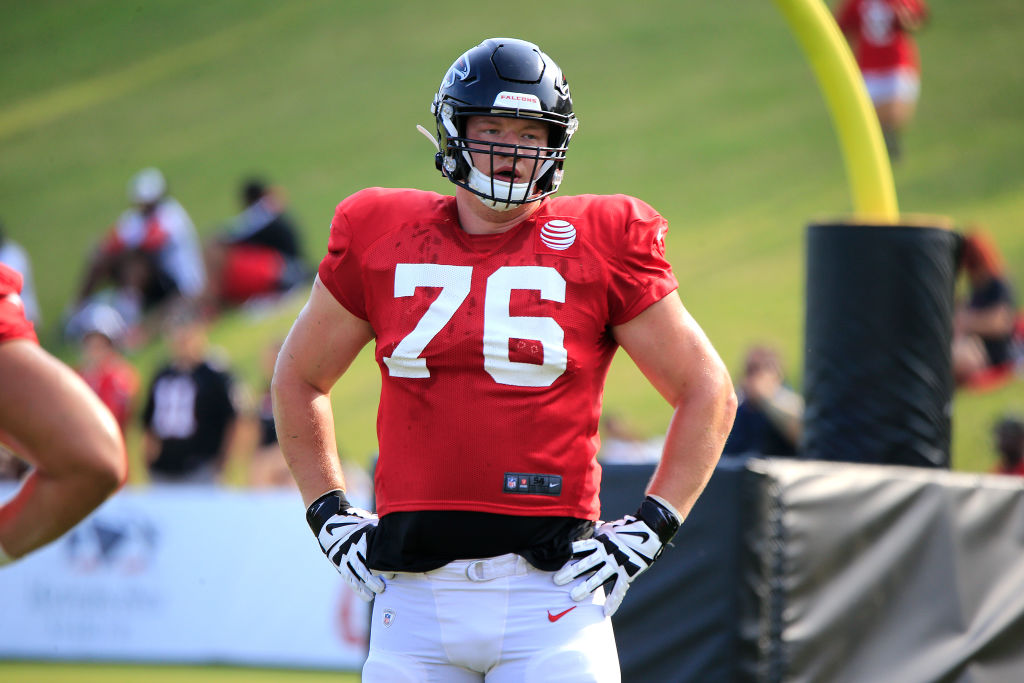 The Atlanta Falcons might regret using a first round draft pick on Kaleb McGary.