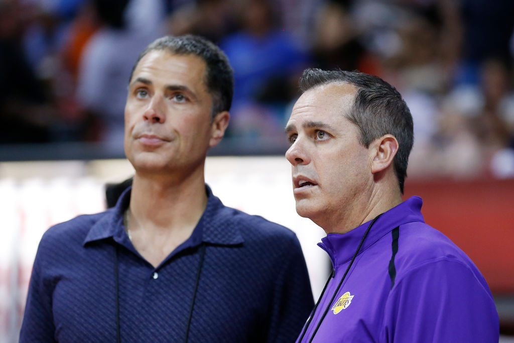 New head coach Frank Vogel (right) brings a defensive mindset, which could be just what the Los Angeles Lakers need.