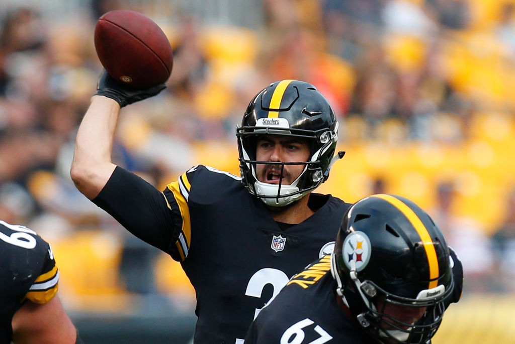 Landry Jones in his time with the Pittsburgh Steelers
