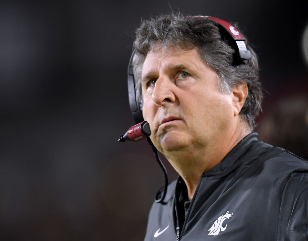 Head Coach Mike Leach wishes the Cougars' schedule wasn't so brutal