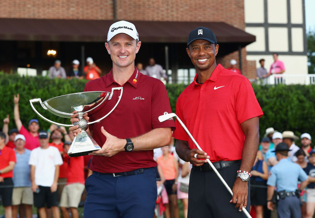 Justin Rose won the FedEx Cup last season despite Tiger Woods winning the Tour Championship