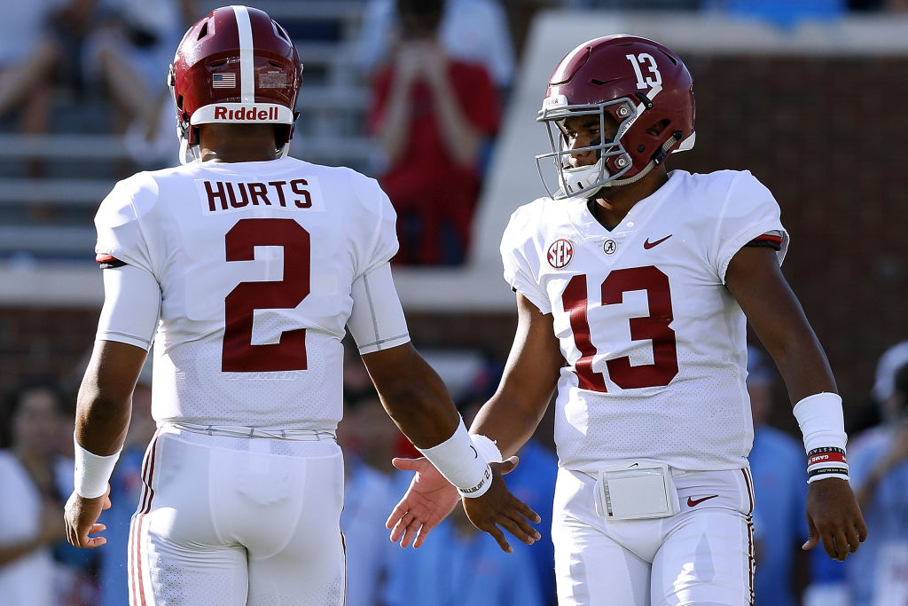 Jalen Hurts was a great teammate during his time in Alabama