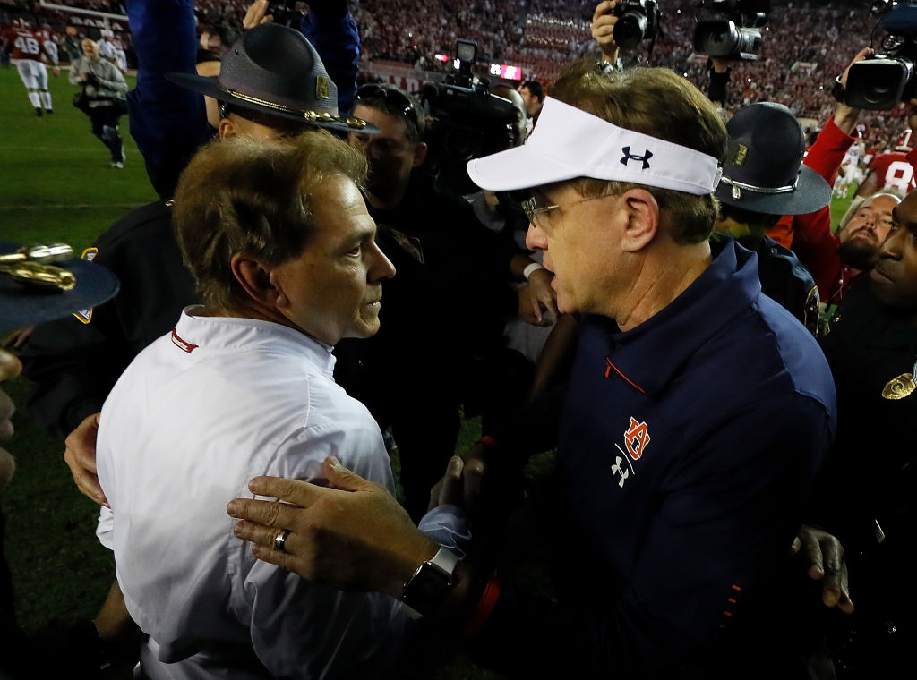 Gus Malzahn hopes to give Nick Saban more trouble in 2019