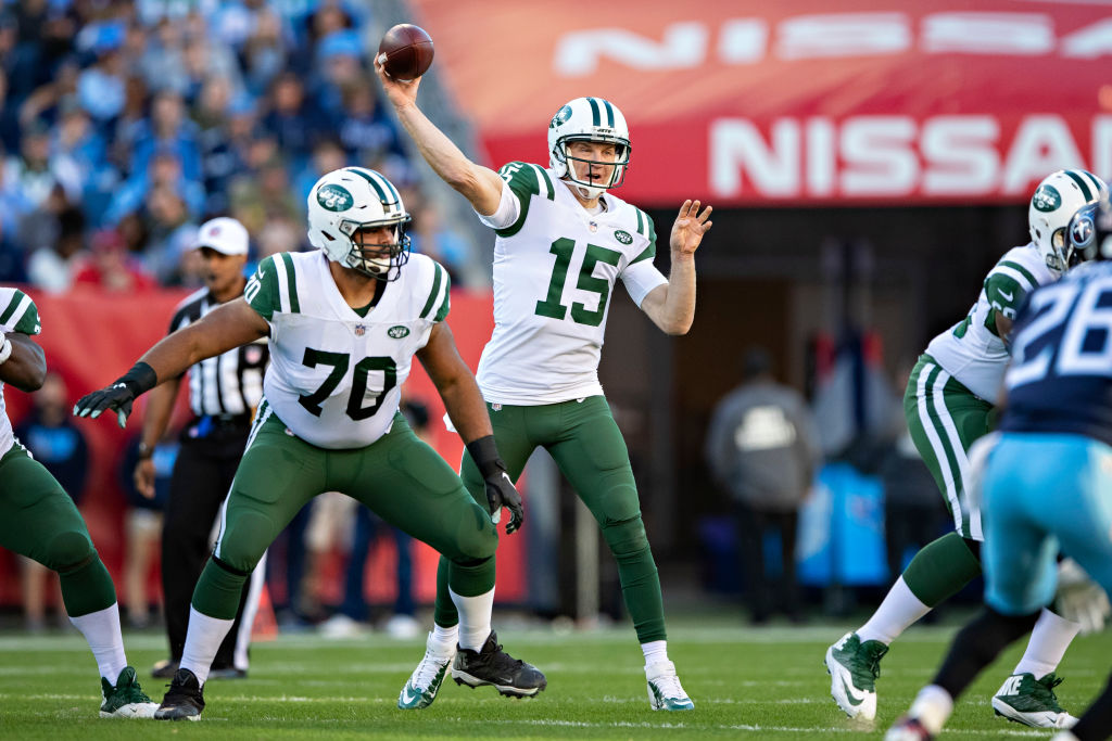 Josh McCown in action with the New York Jets