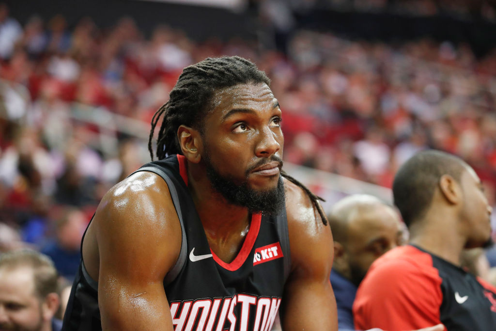 Kenneth Faried is among the slim pickings left for the Lakers to fill Cousins' roster spot with