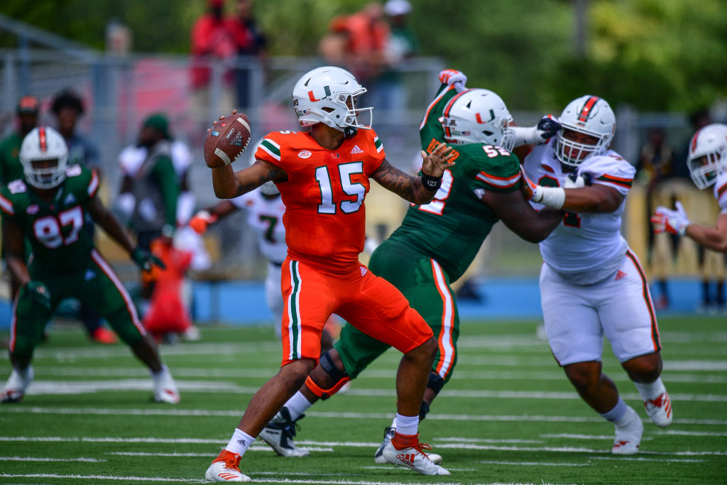 Jarren Williams beat out N'Kosi Perry and Tate Martell for the starting job